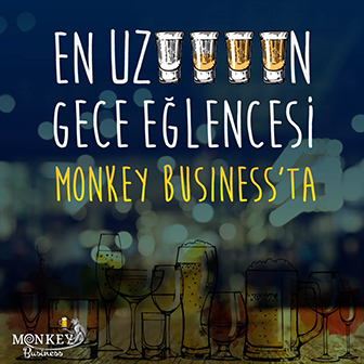 Monkey Business Sosyal Medya Postu
