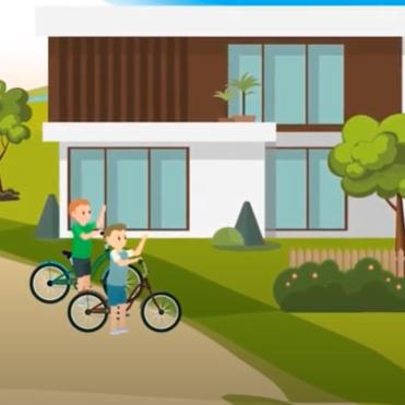 Eston Şehir Mahallem - Çocuk Oyun Alanları 2D Animasyon Videosu