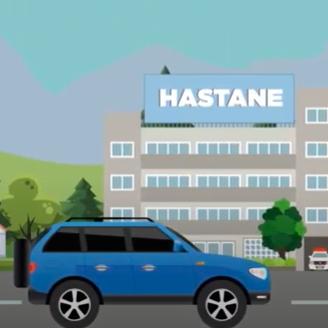 Eston Şehir Mahallem - Yakınlardaki Yaşam Alanları 2D Animasyon Videosu